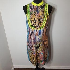 ANTHROPOLOGIE Ranna Gill Embellished BOHO Dress